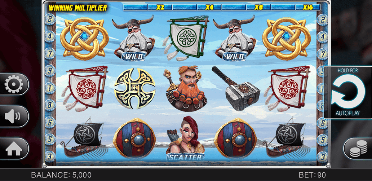 The Vikings™ Slot Machine Game to Play Free in Endorphinas Online Casinos