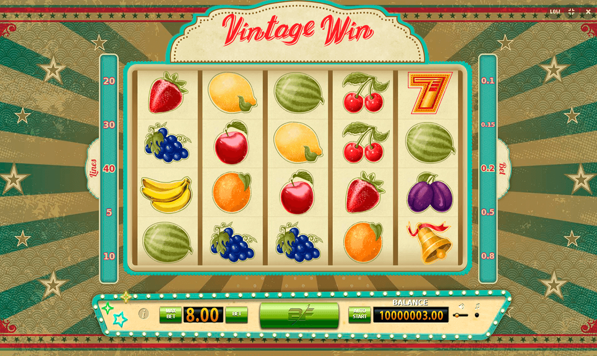 Vintage Win Slot Machine Online ᐈ BF Games Casino Slots