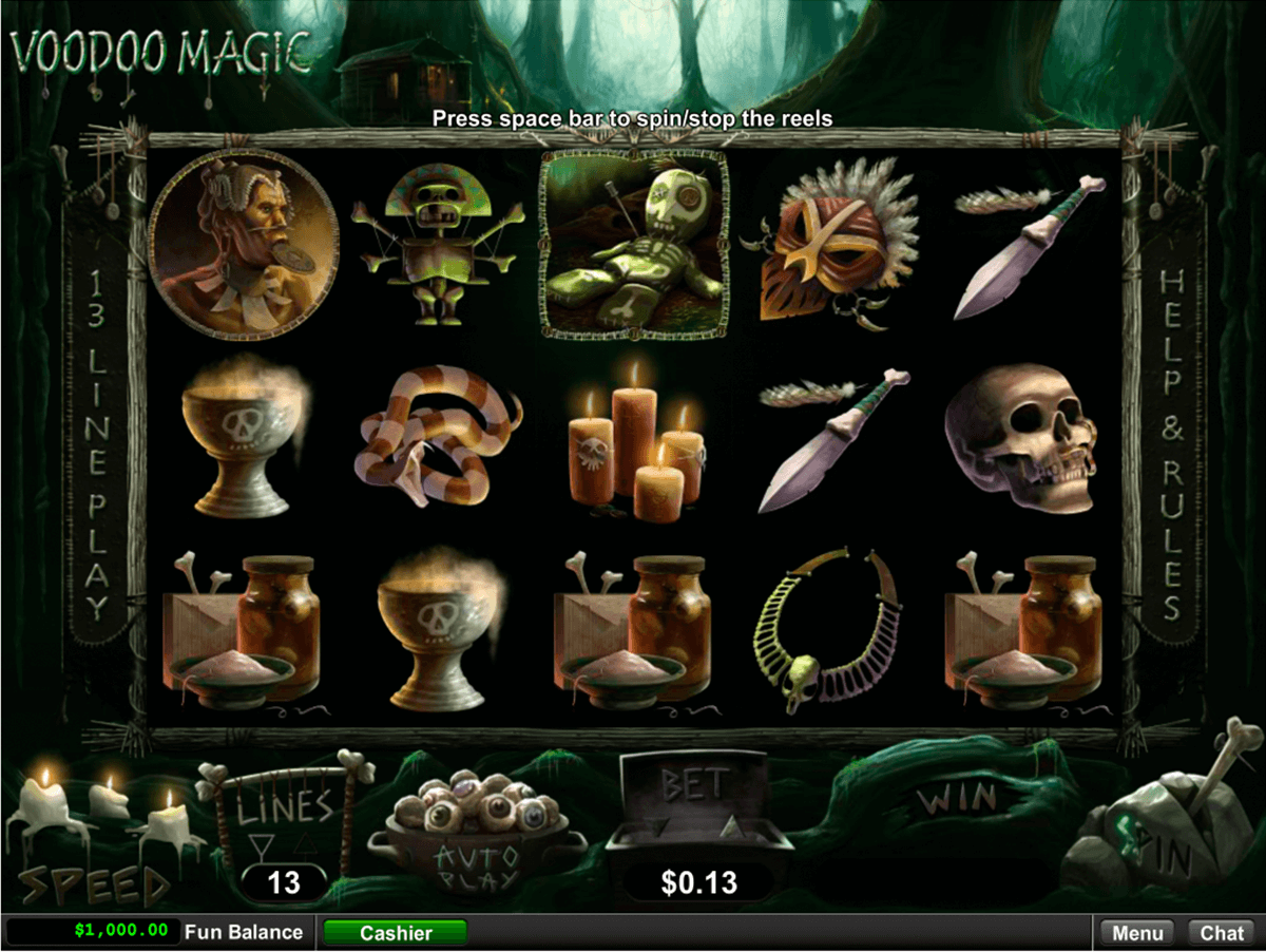 VOODOO MAGIC RTG CASINO SLOTS