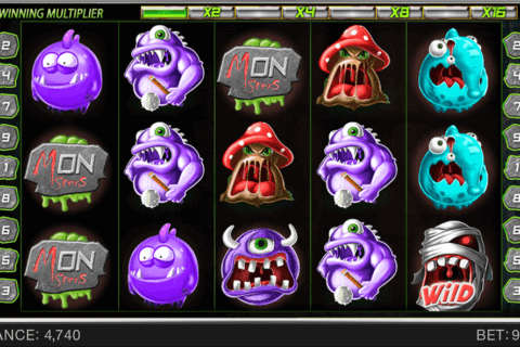 WACKY MONSTERS SPINOMENAL CASINO SLOTS
