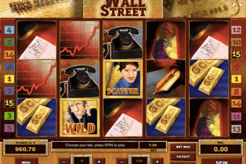 WALL STREET TOM HORN CASINO SLOTS