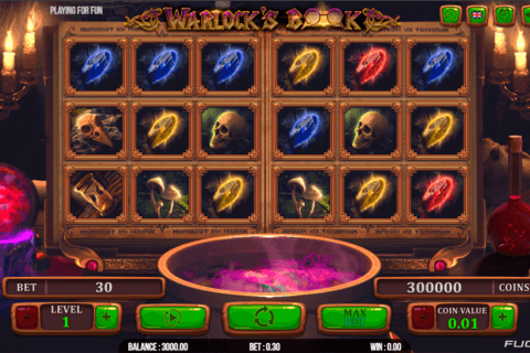 WARLOCKS BOOK FUGASO CASINO SLOTS