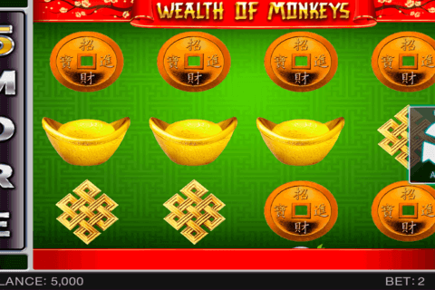 WEALTH OF MONKEY SPINOMENAL CASINO SLOTS