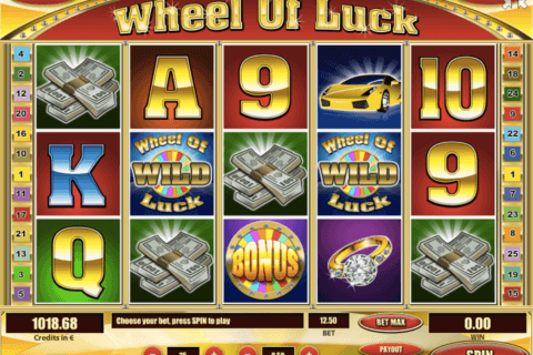 WHEEL OF LUCK TOM HORN CASINO SLOTS