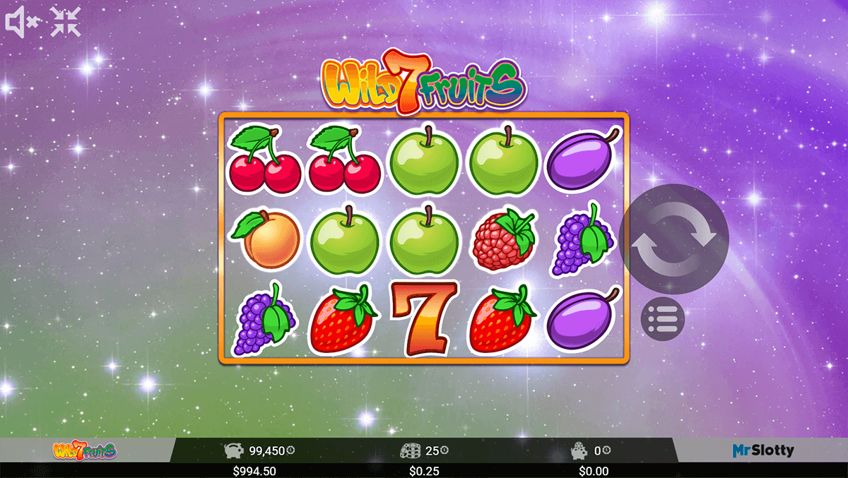 WILD 7 FRUITS MRSLOTTY CASINO SLOTS
