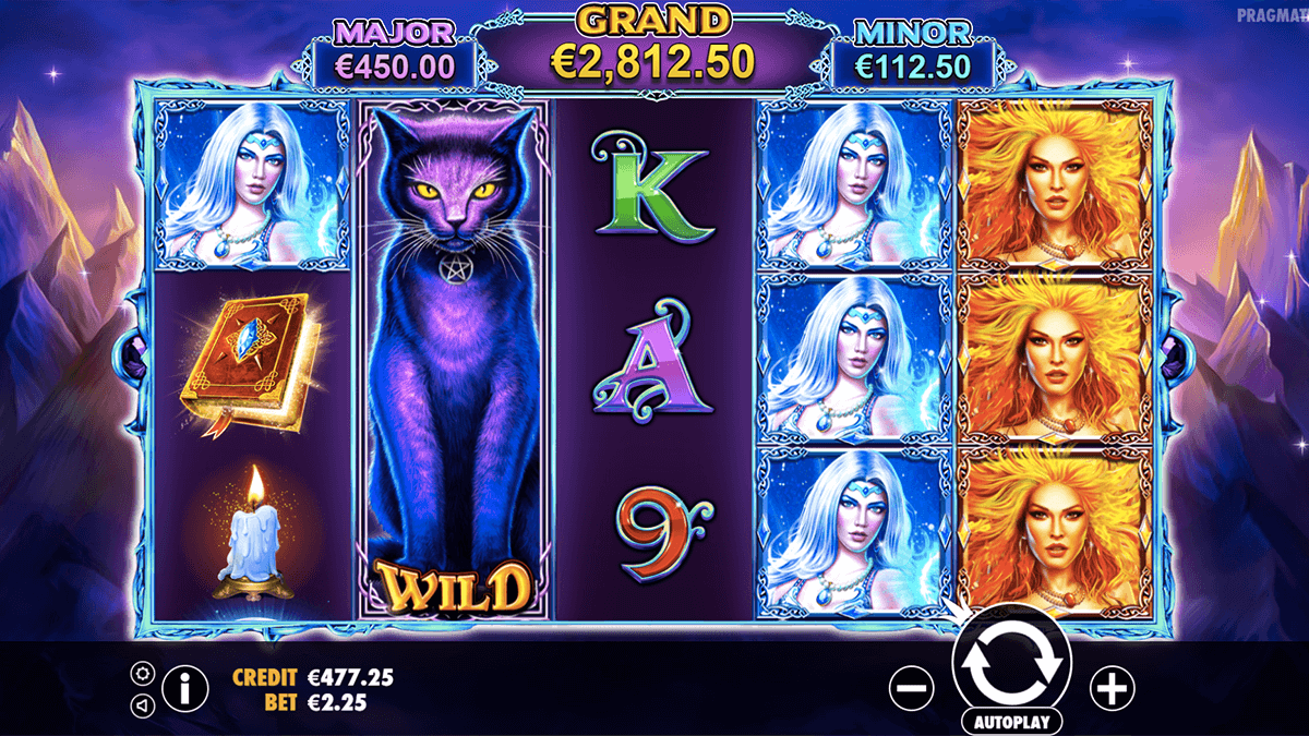 Magic Spell™ Slot Machine Game to Play Free in Microgamings Online Casinos