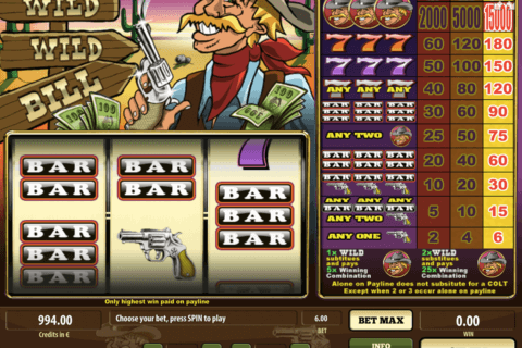 WILD WILD BILL TOM HORN CASINO SLOTS