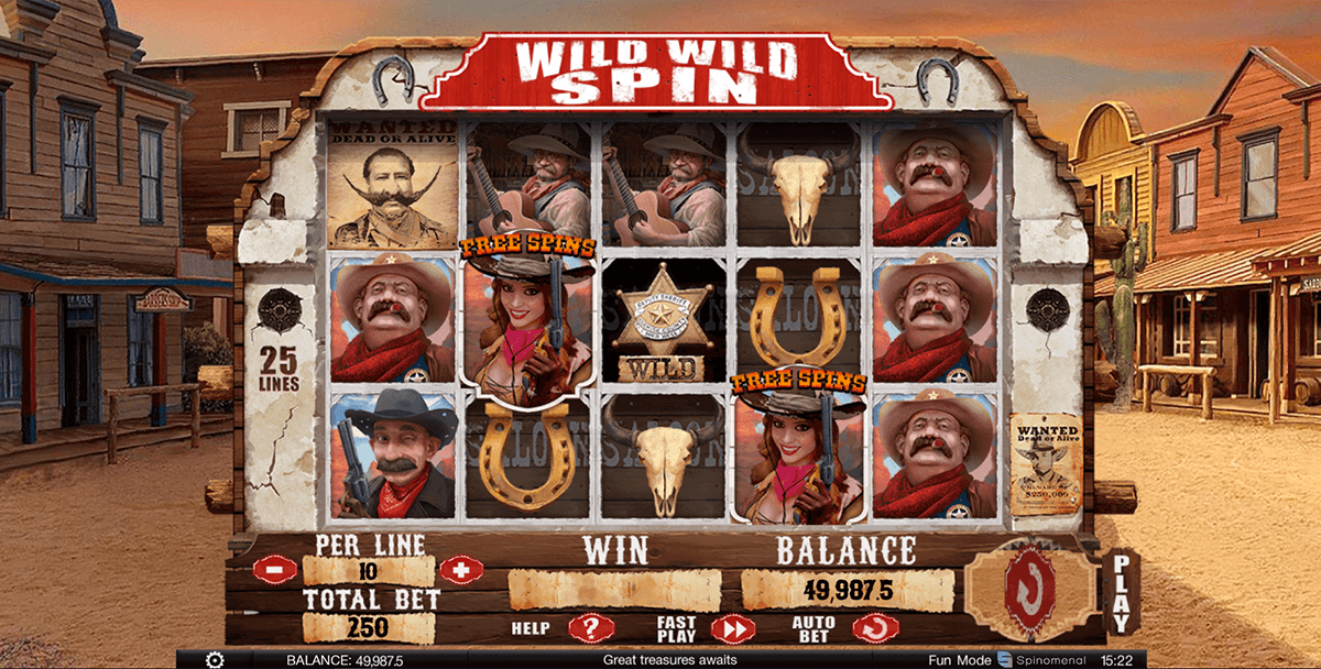 Wild Spinner Slots - Play Online for Free Money