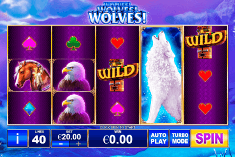 WOLVES PLAYTECH CASINO SLOTS