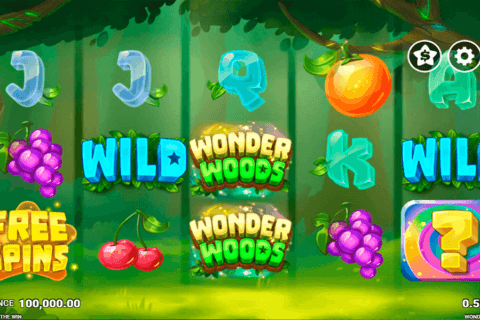 WONDER WOODS JUST FOR THE WIN CASINO SLOTS