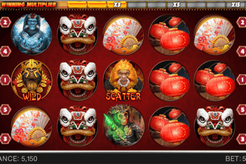 YEAR OF THE MONKEY SPINOMENAL CASINO SLOTS