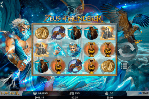 Zeus the Thunderer Slot - Play Now with No Downloads