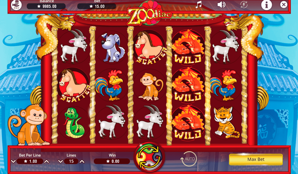 ZOODIAC BOOMING GAMES CASINO SLOTS